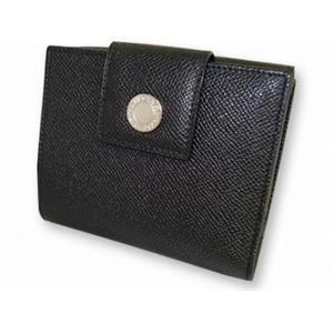 ブルガリ 20201 財布 Wホック2つ折り 財布 ブラック BVLGARI  ブラック - 拡大画像
