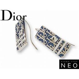 Christian Dior クリスチャン ディオール D69391 トロッター ピアス  ブルー - 拡大画像