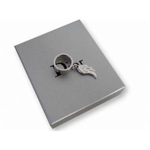 クリスチャン ディオール エクスボーツ 羽根型 リング Christian Dior D80649 シルバー - 拡大画像
