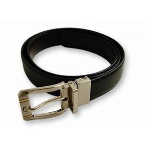 アークドール 60042 メンズ リバーシブル ベルト 牛革 ARC D'OR  ブラック - 拡大画像