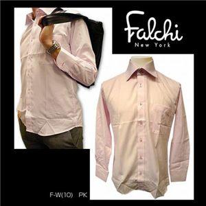 Falchi NewYork(ファルチ ニューヨーク) メンズドレスシャツ F-W-PK #10(ピンク) Lサイズ(41-84) - 拡大画像