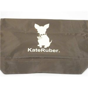 KateRuber(ケイトルーバー) エコバッグ ECO ブラウン  - 拡大画像