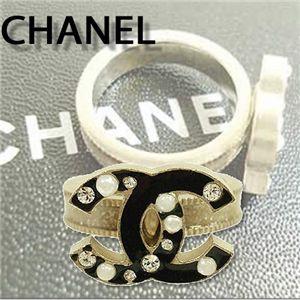 CHANEL(シャネル) リング 36261・G/BK/CR - 拡大画像