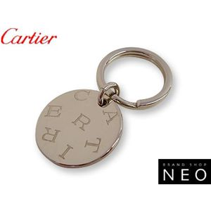 Cartier(カルティエ) ラウンド プレート キーリング T1220154 - 拡大画像