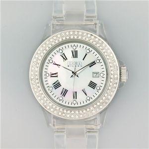 HEB milano(へブ ミラノ) 腕時計 28000ALLS00002 j basic swarovski white  - 拡大画像