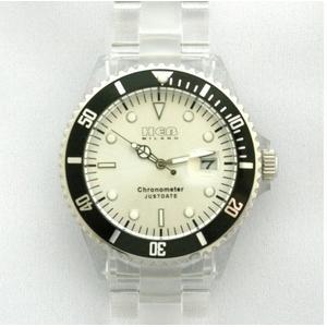 HEB milano(へブ ミラノ) 腕時計 18000ALLS00015 j basic big grey/black - 拡大画像