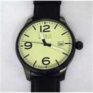 HEB milano(へブ ミラノ) 腕時計 18000ALLS00179 military quartz luminol - 拡大画像