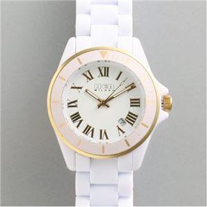HEB milano(へブ ミラノ) 腕時計 28000ALLS00032 deauville white - 拡大画像