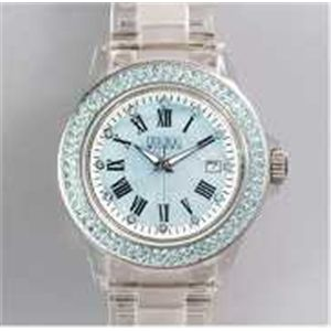 HEB milano(へブ ミラノ) 腕時計 28000ALLS00004 j basic swarovski blue - 拡大画像