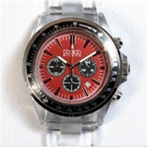 HEB milano(へブ ミラノ) 腕時計 18000ALLS00095 j speed chrono red/black - 拡大画像