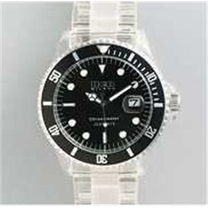 HEB milano(へブ ミラノ) 腕時計 18000ALLS00011 j basic big i9359 black/black - 拡大画像