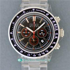HEB milano(へブ ミラノ) 腕時計 18000ALLS00091 j speed chrono black/black - 拡大画像