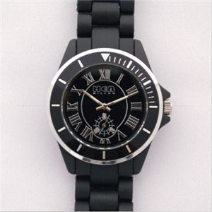 HEB milano(へブ ミラノ) 腕時計 28000ALLS00031 deauville black - 拡大画像