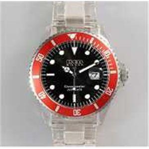 HEB milano(へブ ミラノ) 腕時計 18000ALLS00013 j basic big i9359 black/red - 拡大画像