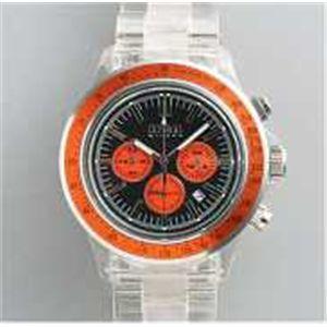 HEB milano(へブ ミラノ) 腕時計 18000ALLS00093 j speed chrono black/orange - 拡大画像