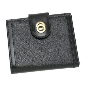 BVLGARI ブルガリ 25215 ドッピオトンド ダブルホック財布 ブラック×ゴールド - 拡大画像