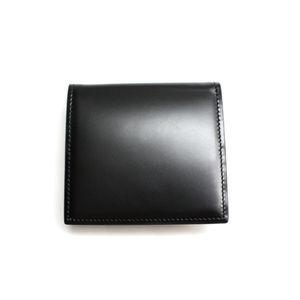SONNE(ゾンネ)小銭入れ コードバン SOC005/BLK ブラック - 拡大画像