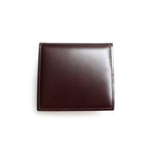 SONNE(ゾンネ)小銭入れ コードバン SOC005/CHO チョコレート - 拡大画像