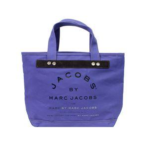 MARC BY MARC JACOBS(マークバイマークジェイコブス) トートバッグ MMJ 91064 パープル 【レアカラー】 - 拡大画像