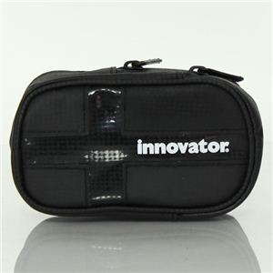INNOVATOR(イノベーター) カラビナ付 ラージサイズ 小物入 ポーチ 31144 BLACK - 拡大画像