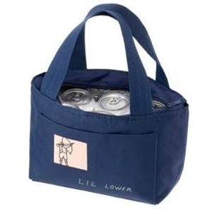 MARC BY MARC JACOBS(マークバイマークジェイコブス) Lil Lower Cooler Bag Navy (196251) 2010年新作 クーラーバッグ - 拡大画像