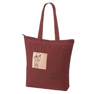 MARC BY MARC JACOBS(マークバイマークジェイコブス) Lil Lower Large Maroon (196200) 2010年新作 ラージトートバッグ - 拡大画像