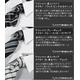 モノトーン系!タイトフィット形態安定ワイシャツ&ネクタイ10点セット サイズLL/86【50226+10423】 - 縮小画像4