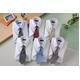 銀座・丸の内のOL100人が選んだ 半袖ワイシャツ&ネクタイセット 50217 シャツサイズ LL ワイシャツ6枚 ネクタイ8本 セット  - 縮小画像1