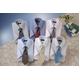 銀座・丸の内のOL100人が選んだ 半袖ワイシャツ&ネクタイセット 50216 シャツサイズ L ワイシャツ6枚 ネクタイ8本 セット - 縮小画像1
