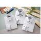 ドレスシャツ3枚組 抗菌・防臭加工ワイシャツ ホワイト 50220 サイズ M - 縮小画像1