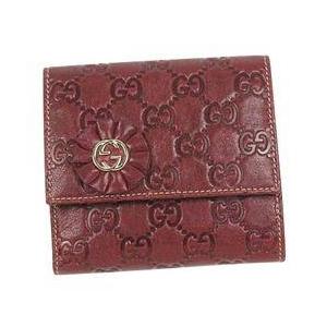 Gucci(グッチ) 190382 D4C1G 6206 Wホック財布 - 拡大画像