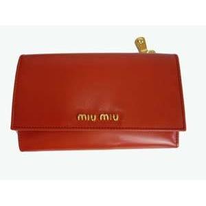 MIUMIU(ミュウミュウ) 5M1097 276 PAPRIKA 財布 札入れ - 拡大画像