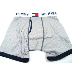 TOMMY HILFIGER(トミーヒルフィガー) U62512232 GREY/NAVY 004 アンダーウェア ブリーフ L GREY - 拡大画像