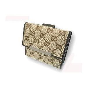 Gucci(グッチ) 112664 F40IR 9643Wホック 2つ折り財布 - 拡大画像