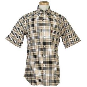 Burberry(バーバリー) N SUSSEX M/C CAMEL メンズシャツ 5 - 拡大画像