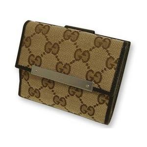 Gucci(グッチ) Wホック 2つ折り財布 112716-F40IR-9643 2009新作 - 拡大画像