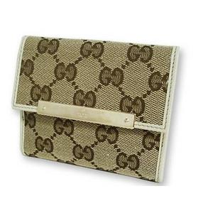 Gucci(グッチ) Wホック 2つ折り 財布 112716 F40IG 9773 2009新作 - 拡大画像