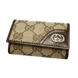 Gucci(グッチ) 6連キーケース ベージュ×ダークブラウン 181680 FAFXN 9569 2009新作 - 拡大画像