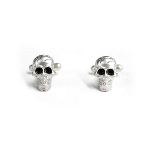 Cuffs(カフスボタン) カフリンクス スカル(髑髏)ドクロ Skull Cufflinks 2009新作 - 拡大画像