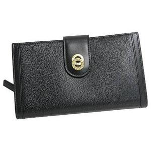 Bvlgari(ブルガリ) 25265DOPPIOTONDO ドッピオトンド二つ折り中財布ブラック×ゴールド - 拡大画像