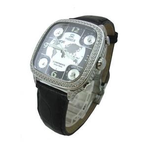 MODEX(モデックス) 5continents G-5BLK-001-BK Full diamond スイス製 ダイヤモンド メンズ腕時計 - 拡大画像