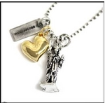 MARC BY MARC JACOBS(マークバイマークジェイコブス) Charm Necklace ネックレス バリエーション I Love NYC 123305