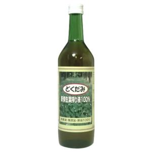 どくだみ新鮮生葉搾り液 100% 720ml - 拡大画像