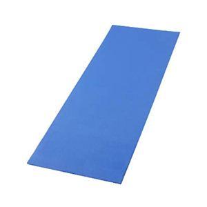 ヨガマット ブルー - 拡大画像