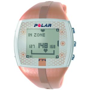 POLAR(ポラール) 腕時計型 心拍計(ハートレートモニター) FT4F ブラウン - 拡大画像