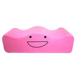 のぽぽん足枕 ピンク - 拡大画像