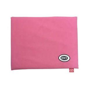 電気いらずのぬくぬくレッグマット ピンク - 拡大画像