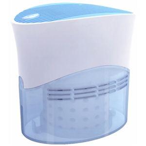 ドンキーボックス デスクトップ加湿器(自然気化式) CK-01-BL ブルー - 拡大画像