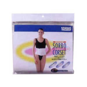 ソルボコルセット薄型 ホワイト L - 拡大画像