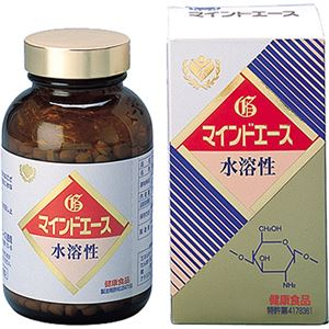 (お徳用 2セット) 水溶性キトサン マインドエース 徳用平錠 1000錠 ×2セット - 拡大画像